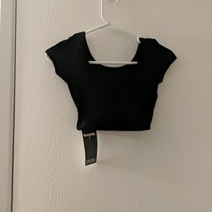 Black milk velvet Nana suit crop top xxs new